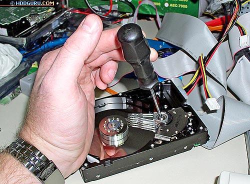 Ремонт жесткого диска после удара своими руками